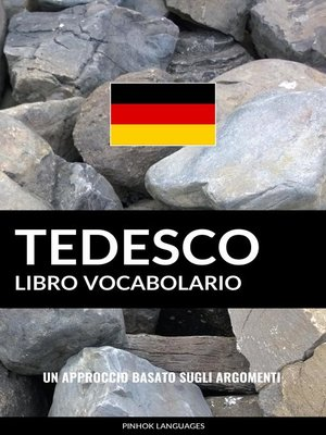 cover image of Libro Vocabolario Tedesco