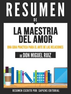 cover image of La Maestria Del Amor