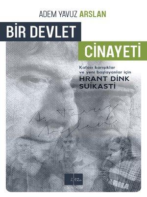 cover image of Bir Devlet Cinayeti
