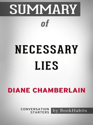cover image of Summary of Necessary Lies by Diane Chamberlain / Conversation Starters
