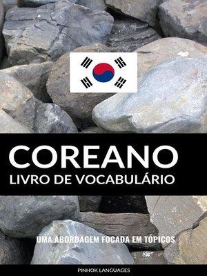 cover image of Livro de Vocabulário Coreano