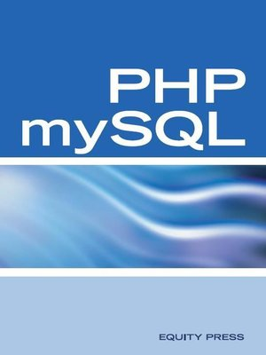 cover image of PHP mySQL Web Programming Interview Questions, Answers, and Explanations