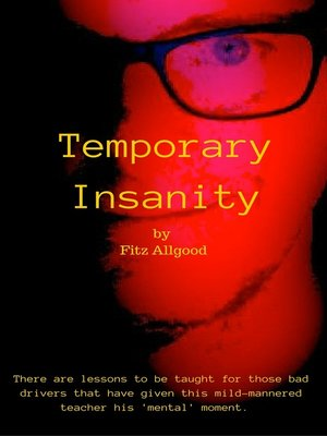 cover image of Temporary Insanity