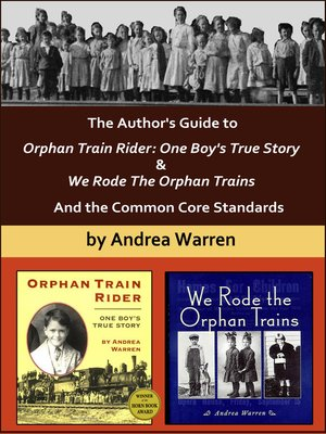 cover image of The Author's Guide to Orphan Train Rider
