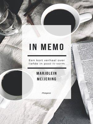 cover image of In Memo