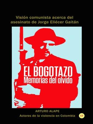 cover image of El bogotazo