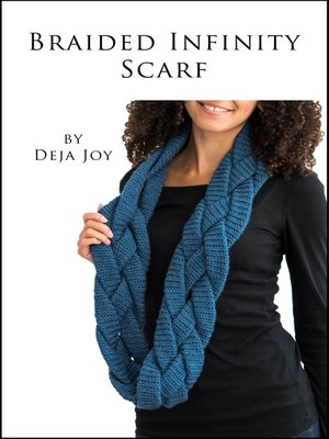 cover image of Braided Infinity Scarf