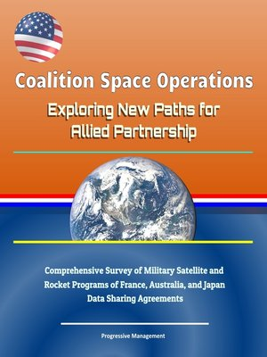 cover image of Coalition Space Operations
