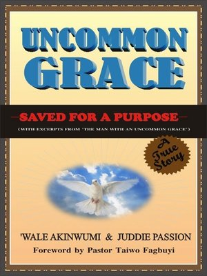 cover image of Uncommon Grace
