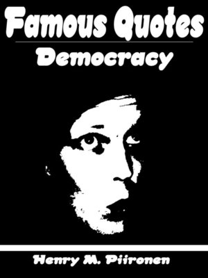 cover image of Famous Quotes on Democracy