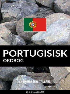 cover image of Portugisisk ordbog