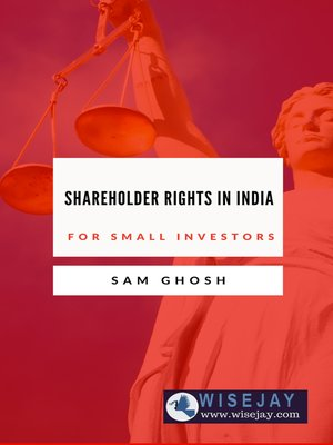 cover image of Shareholder Rights in India for Small Investors