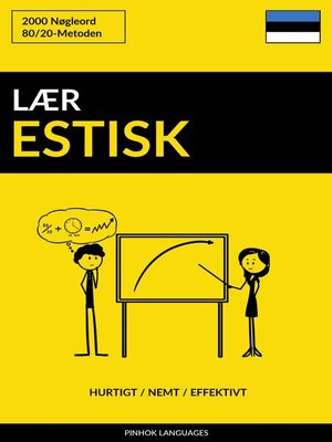 cover image of Lær Estisk
