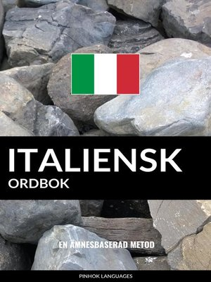 cover image of Italiensk ordbok