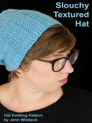 cover image of Slouchy Textured Hat