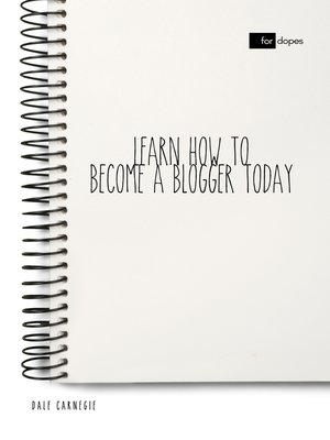 cover image of Learn How to Become a Blogger Today
