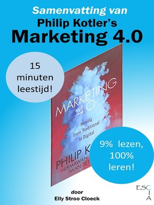 cover image of Samenvatting van Philip Kotler's Marketing 4.0