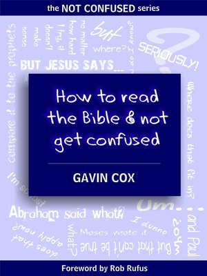 cover image of How to Read the Bible & Not Get Confused