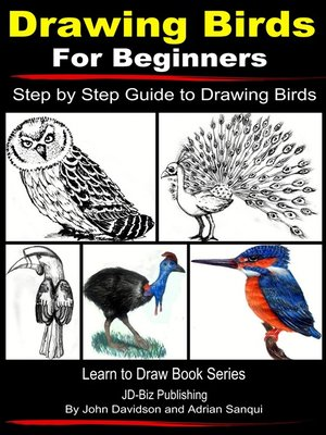 cover image of Drawing Birds for Beginners
