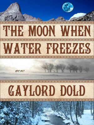 cover image of The Moon When Water Freezes