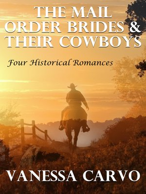 cover image of The Mail Order Brides & Their Cowboys