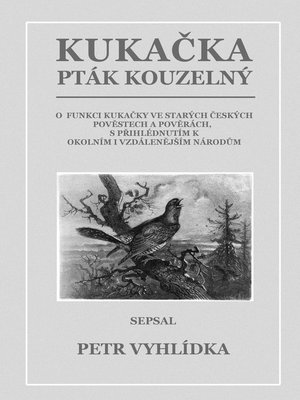 cover image of Kukačka, pták kouzelný
