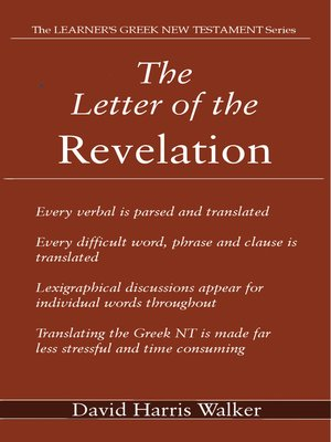 cover image of The Letter of the Revelation