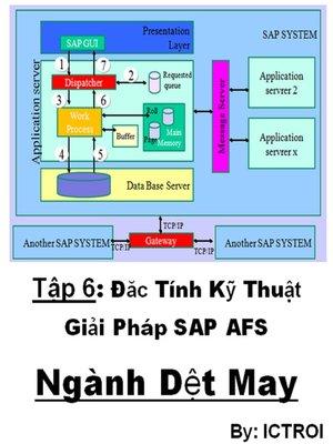 cover image of Đặc Tính Kỹ Thuật Giải Pháp SAP AFS Ngành Dệt May