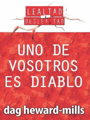 cover image of Uno de vosotros es diablo