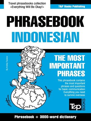 cover image of Phrasebook Indonesian