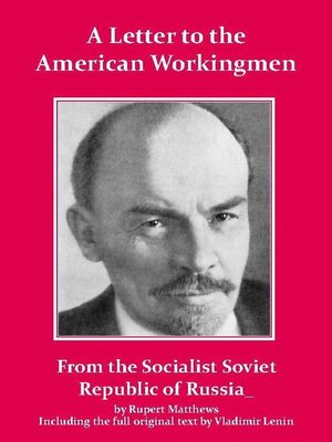 cover image of Lenin's Letter to the American Workingmen