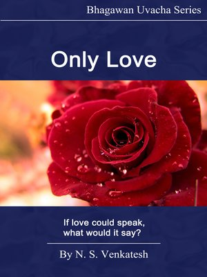 cover image of Only Love