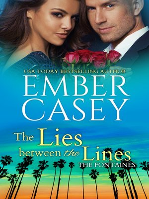 cover image of The Lies Between the Lines (The Fontaines #2)