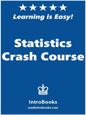 cover image of Statistics Crash Course
