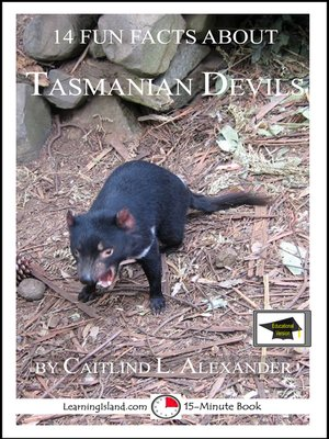 cover image of 14 Fun Facts About Tasmanian Devils