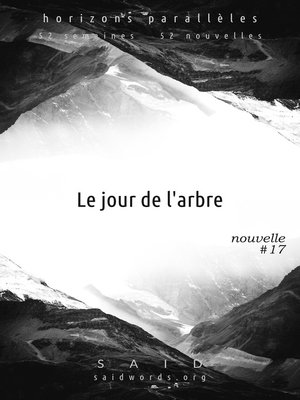 cover image of Le jour de l'arbre