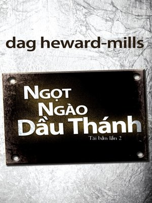 cover image of Ngọt Ngào Dầu Thánh