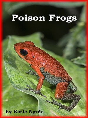 cover image of Poison Frogs