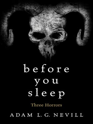 cover image of Before You Sleep