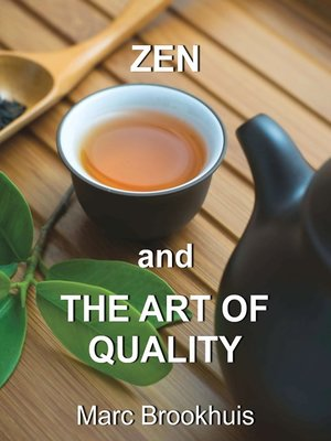 cover image of Zen and the Art of Quality