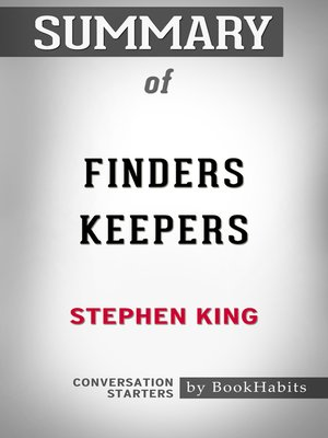 cover image of Summary of Finders Keepers by Stephen King / Conversation Starters