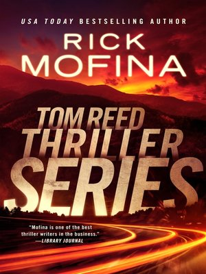 cover image of Tom Reed Thriller Series