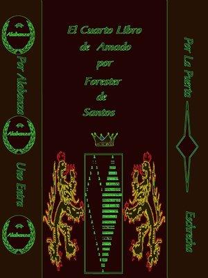 cover image of El Cuarto Libro de Amado