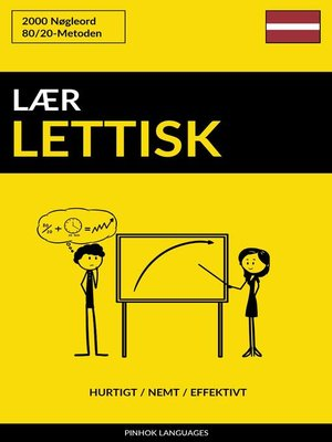 cover image of Lær Lettisk