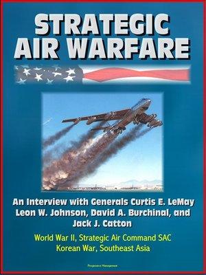 cover image of Strategic Air Warfare