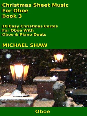 cover image of Christmas Sheet Music For Oboe