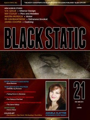 cover image of Black Static #21 Magazine