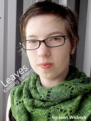 cover image of Leaves Shawl Lace Knitting Pattern