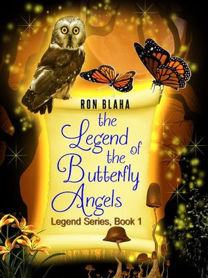 cover image of The Legend of the Butterfly Angels, Legend Series, Book 1