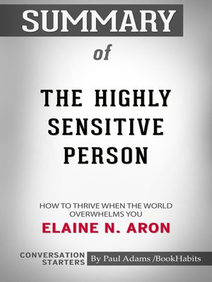 cover image of Summary of the Highly Sensitive Person